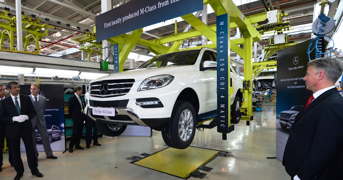 Mercedes benz india blog mercedes benz sharpens india focus for Mercedes benz manufacturing plant in usa