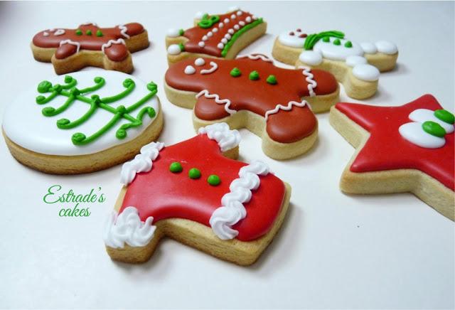 galletas de Navidad con glasa - 3