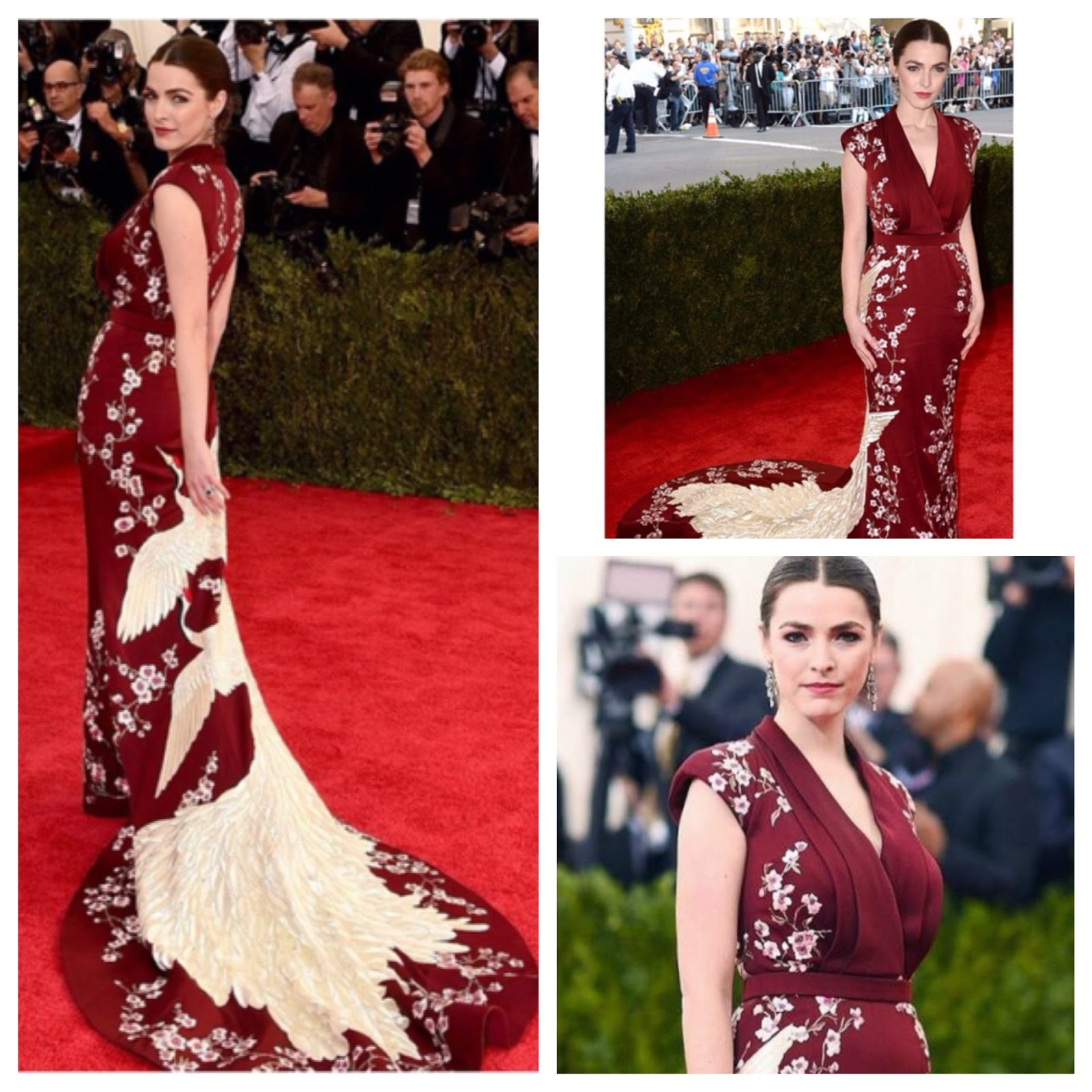 Bee Shaffer MET GALA 2015 in Pictures