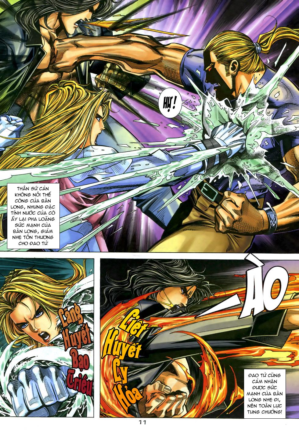 X Bạo Tộc chap 33 - Trang 11