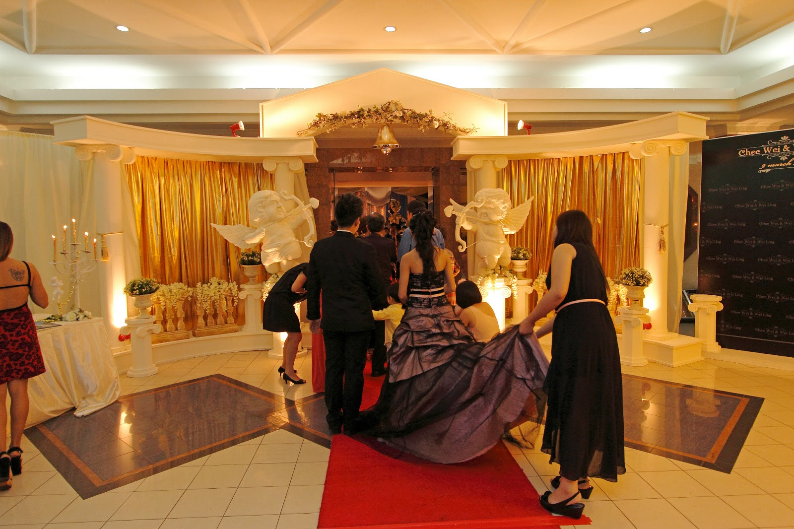 Visual art penang wedding party and event decoration roman empire roman empire theme wedding junglespirit Images