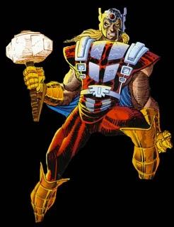 Galería de Portadores del Mjolnir - Thors en el Universo Amalgam