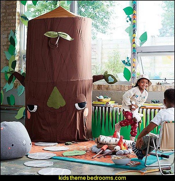tree playhouse canopy