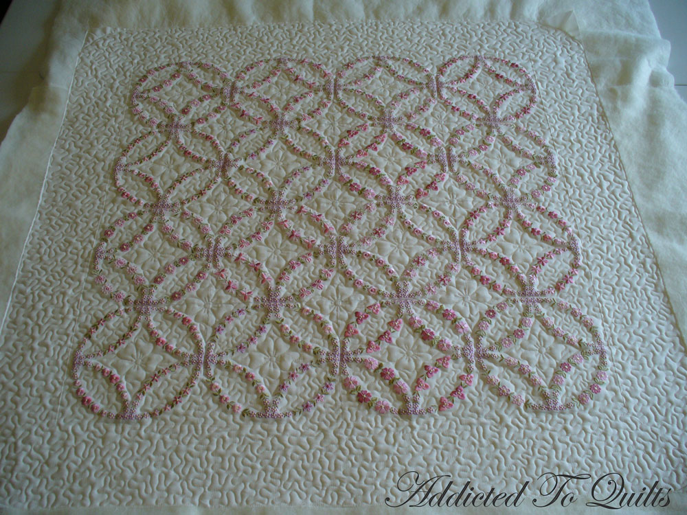 Magnificent Double Wedding Ring Quilt to Embroidery 1000 x 750 · 245 kB · jpeg