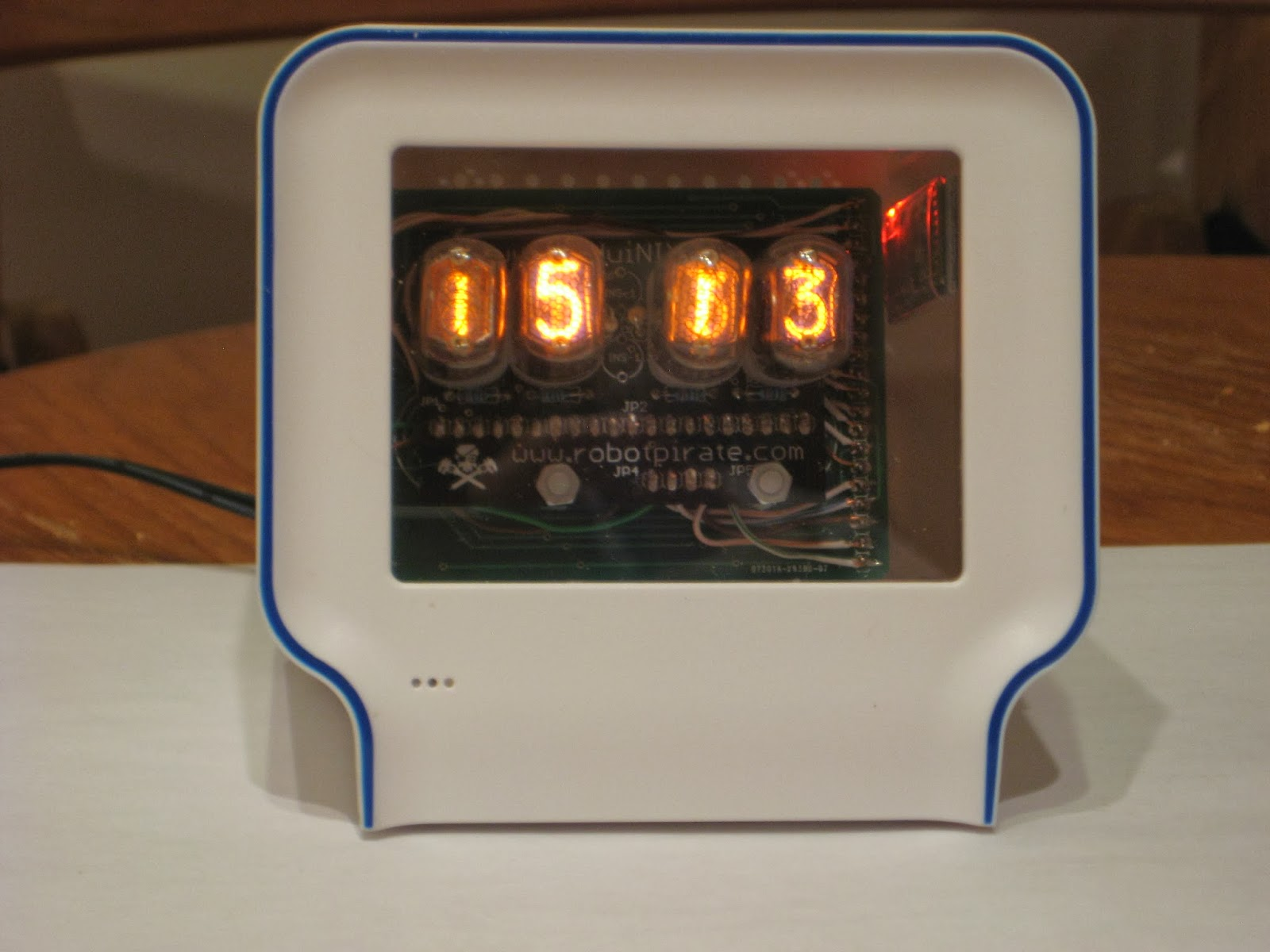 Wise time with arduino chumby nixie clock