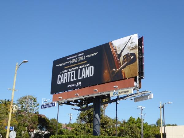 Cartel Land film billboard