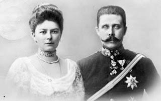 Archiduc Franz Ferdinand d'Autriche 1863-1914 et la duchesse de Hohenberg 1868-1914