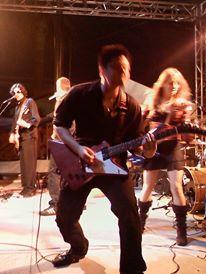 gibson explorer, explorer, gibson, gibson guitar, gibson guitars, guitars, electric guitar, electric guitars, del mar fair, del mar fair 2011, joker face, steven fies