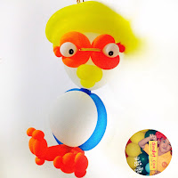 balon magic bentuk pororo