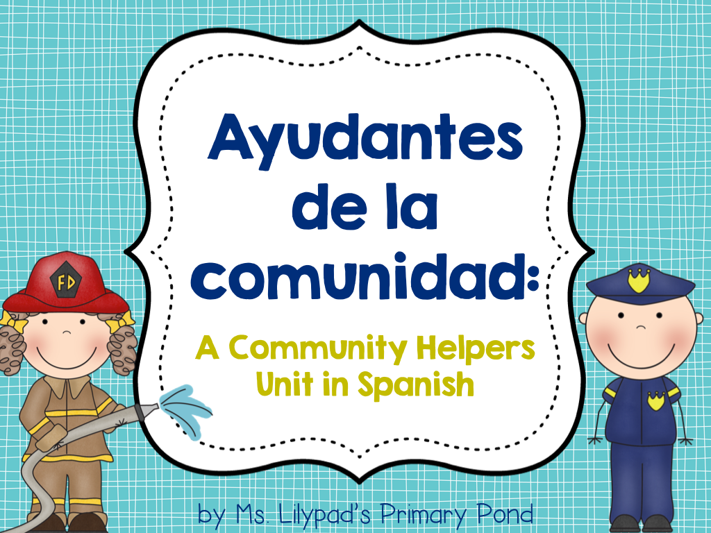 Community Helpers In Town Language Arts English Language Essay Term