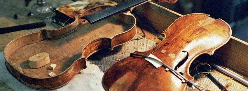 Jolie couverture pour facebook violon