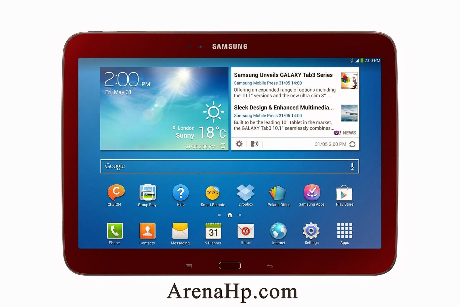Harga dan Spesifikasi Samsung Galaxy Tab 3 10.1 P5200