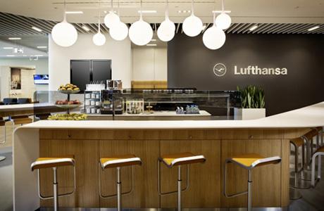 Salón Ejecutivo, Lufthansa, Frankfurt
