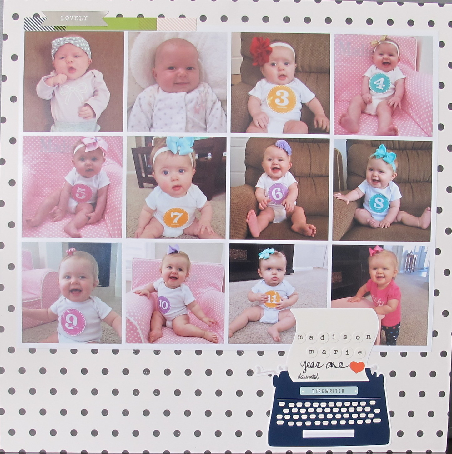 turning instagram pictures into a collage baby album idea