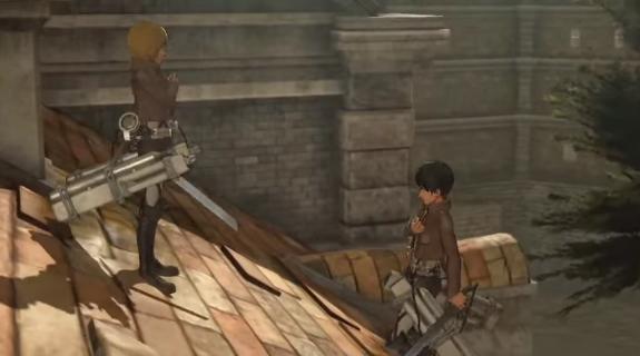 Game 'Attack on Titan' Perlihatkan Gameplay Aksi Dan Kamp