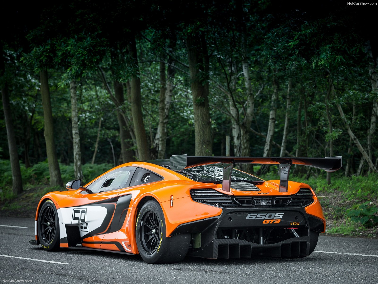 Hình ảnh siêu xe McLaren 650S GT3 2015 & nội ngoại thất