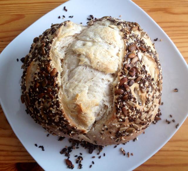 PaleoChick's Kombucha Seeded Sourdough!