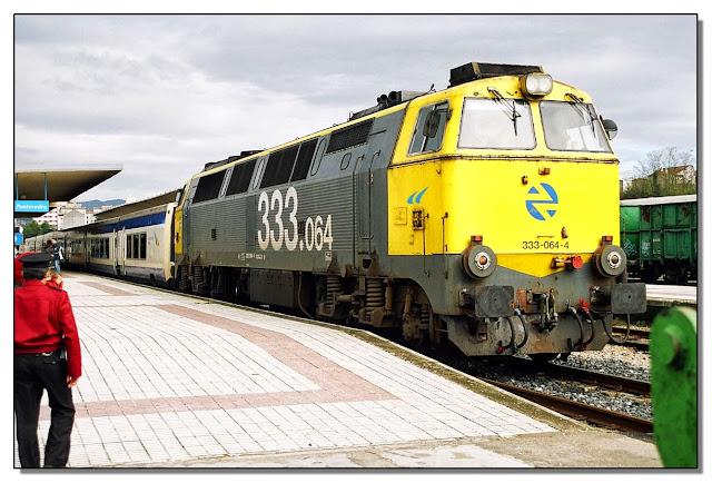 La clásica locomotora 333, diésesl, sigue siendo apreciada.