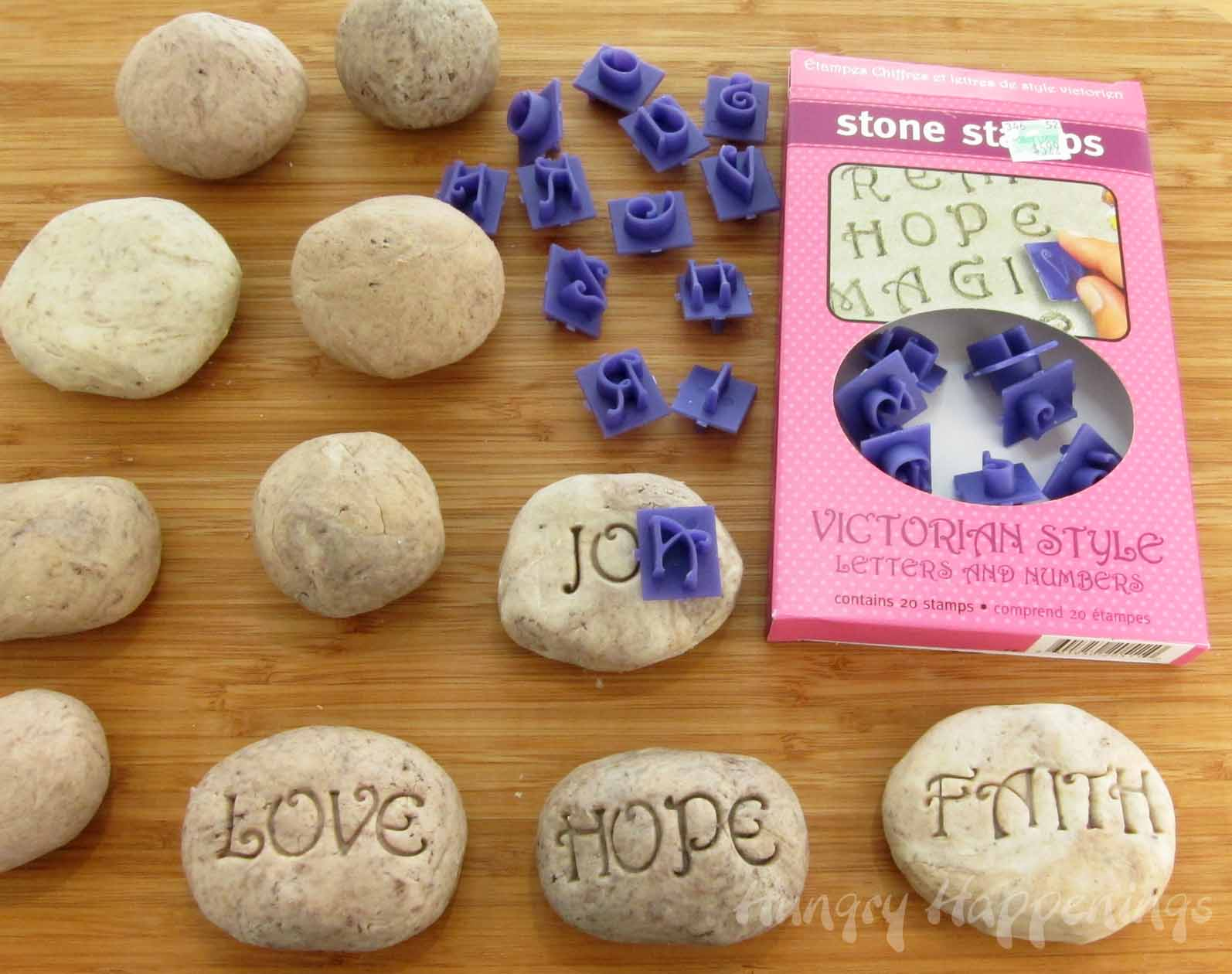 How to Make a Salt Dough Name Banner pictures