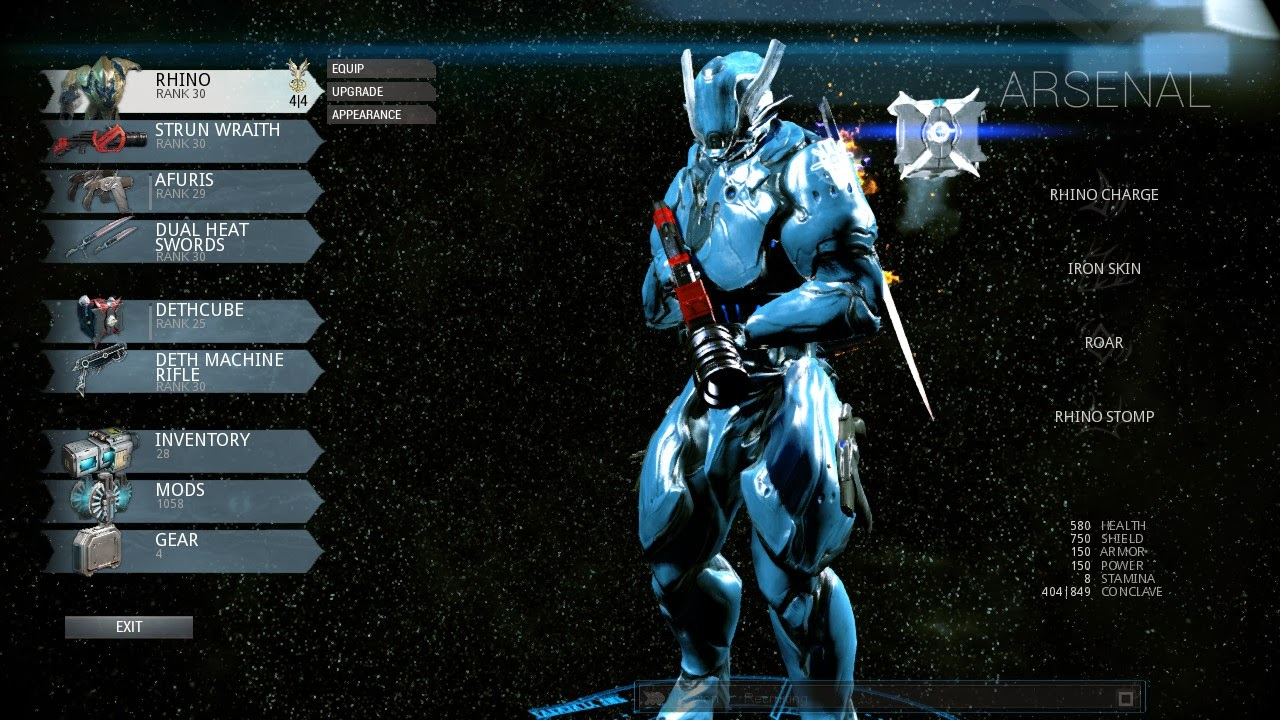 Warframe beginner guide november 2013 warframe arsenal malvernweather Gallery