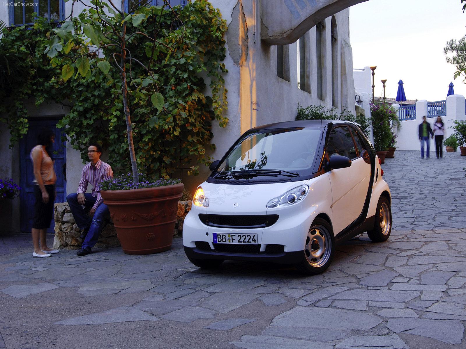 Hình ảnh xe ô tô Smart fortwo coupe 2007 & nội ngoại thất
