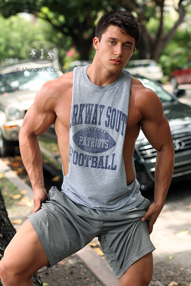 The beauty of male muscle blake for Buff dudes t shirt