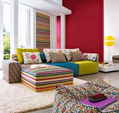 Desain interior ruang tamu kecil