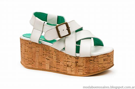 Moda 2014 sandalias verano 2014.
