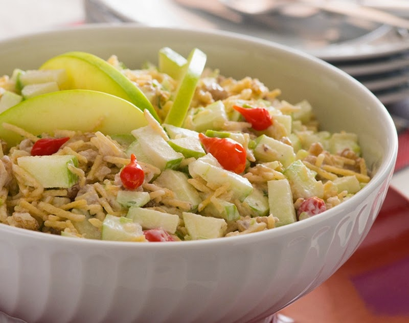 Salada de Festa (vegana)