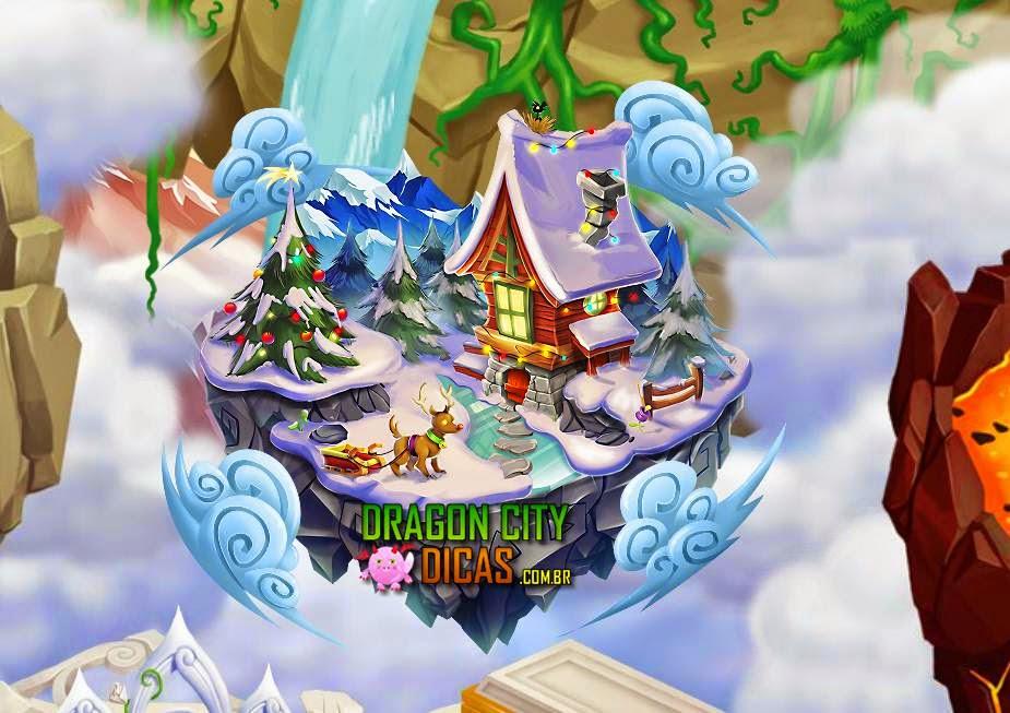 Ilha de Natal 2014 no Dragon City