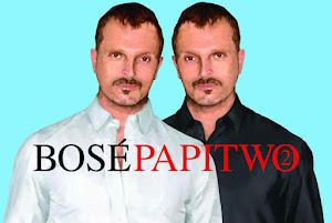 El 'Papitwo' de Miguel Bosé
