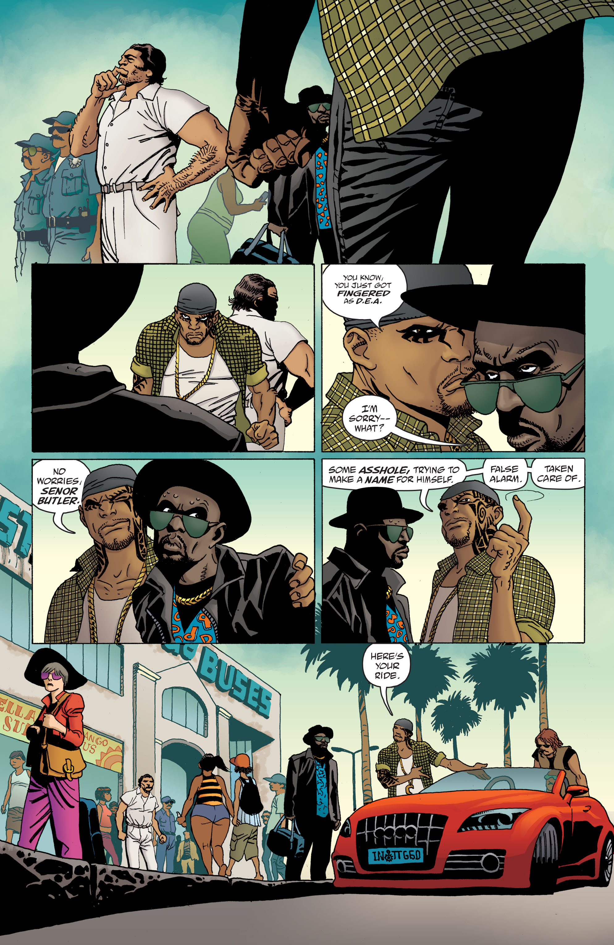 100 Bullets: Brother Lono Full Page 28
