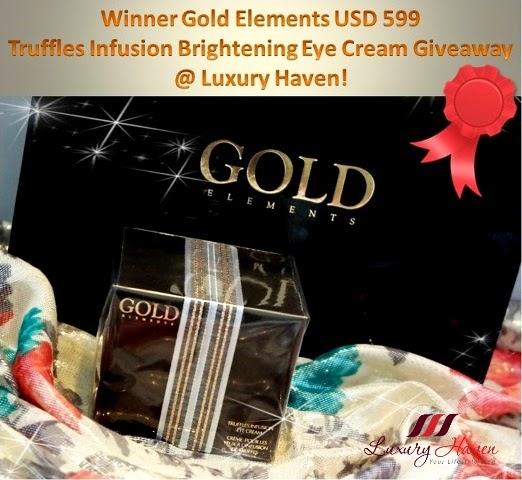 gold elements truffles infusion brightening eye cream winner