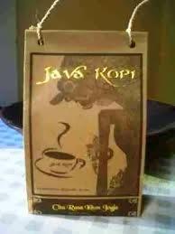 java kopi, kopi jawa