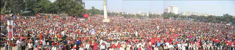 CPIML Rally at Kolkatta in 2007