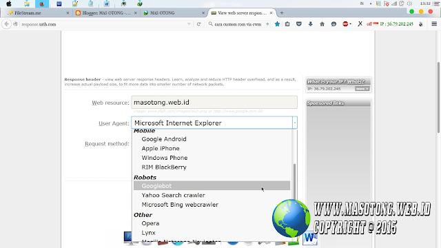 cara mengecek bug host operator via urih