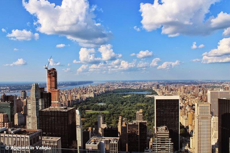 New york dall 39 alto appunti in valigia for New york dall alto