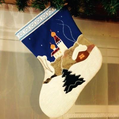 Russian Christmas stocking