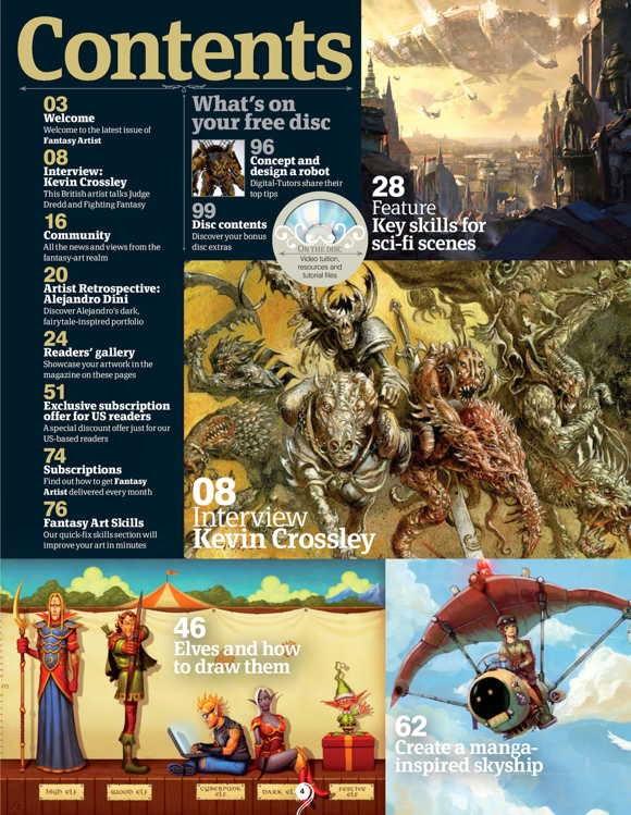 Fantasy Artist Magazine Issue 38