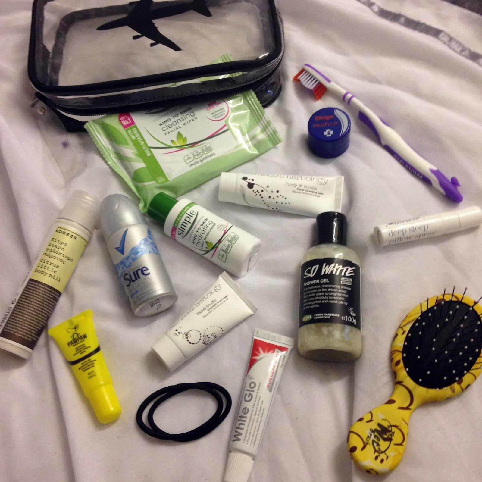 Whats in my hospital bag? beauty