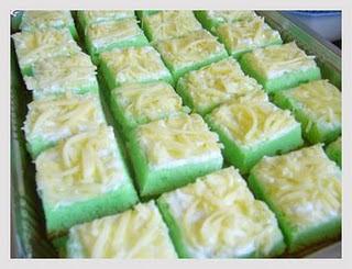 Resep dan Cara Membuat Kue Pandan Keju