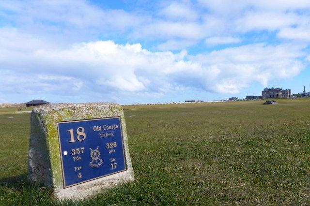 Old Course, Saint Andrews - Campo de golf en San Andres