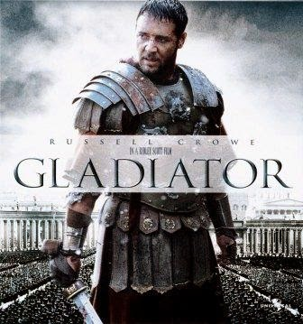 Russel Crowe en Gladiator