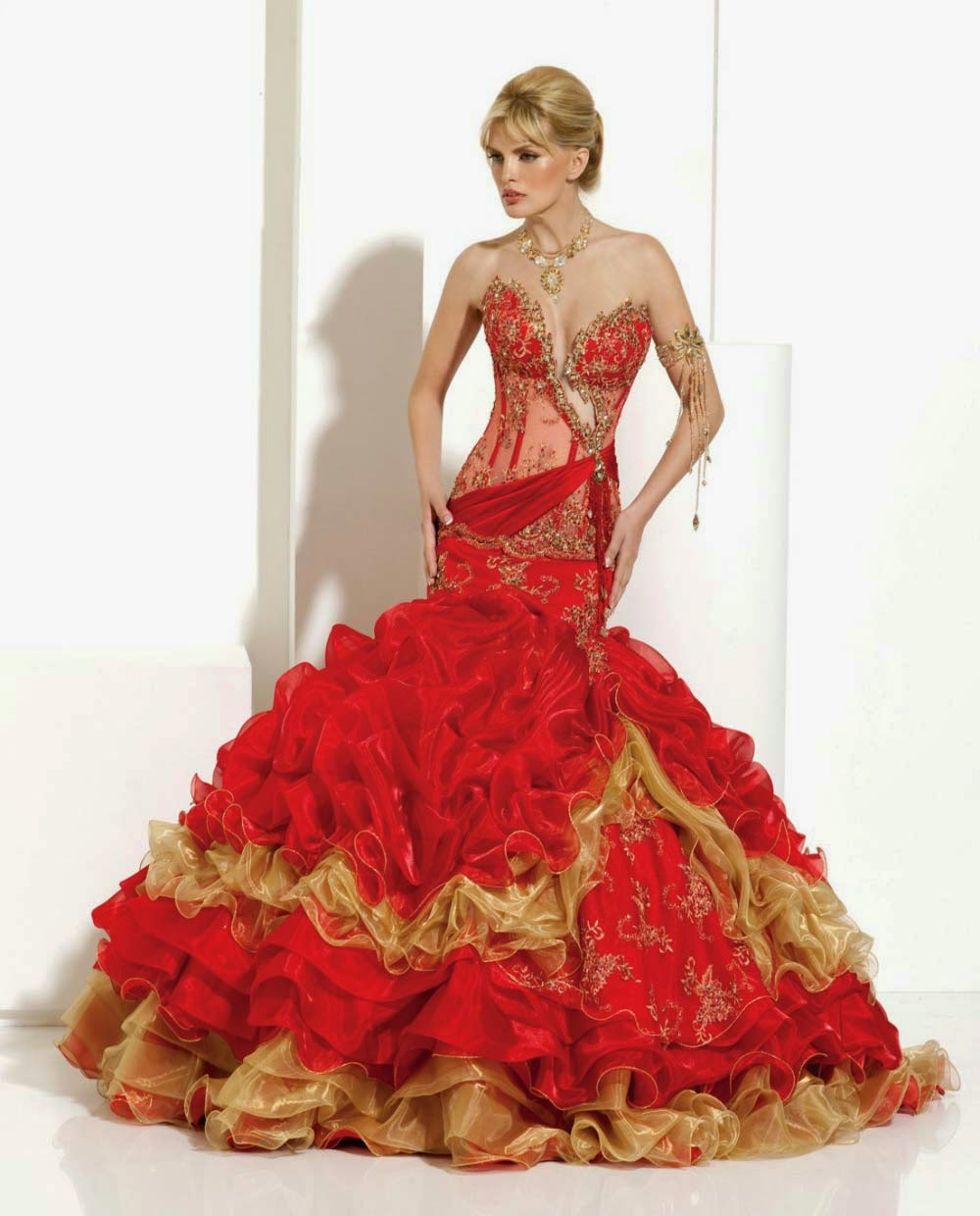 Blog For Dress Shopping 2014 New Style Ball Gown Wedding Dresses