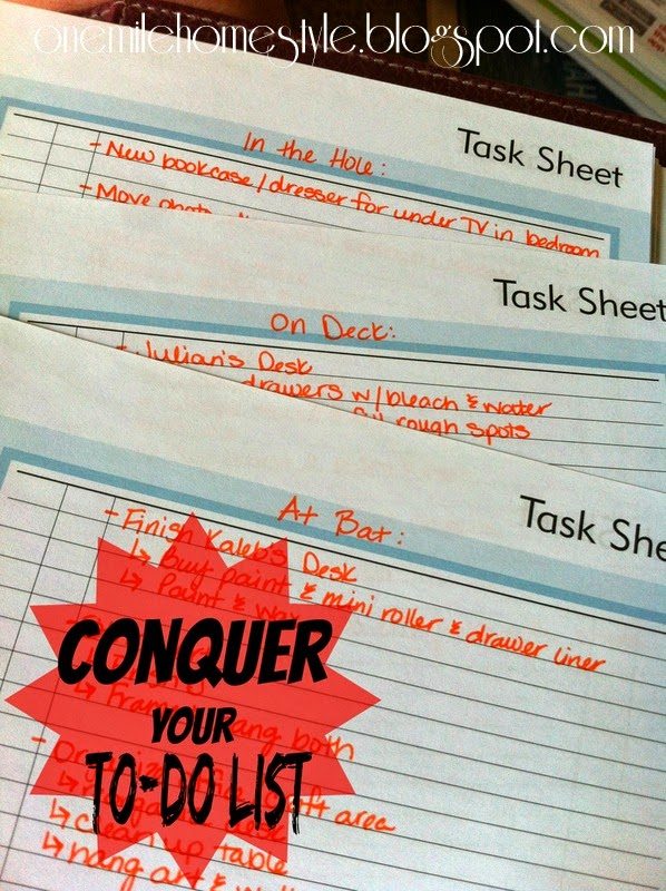 Divide and Conquer Your To-Do List