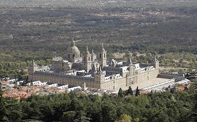 El monasterio de El Escorial en Madrid