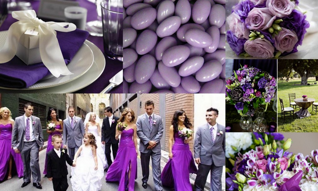 Bridesmaid Dress for Your Purple Wedding