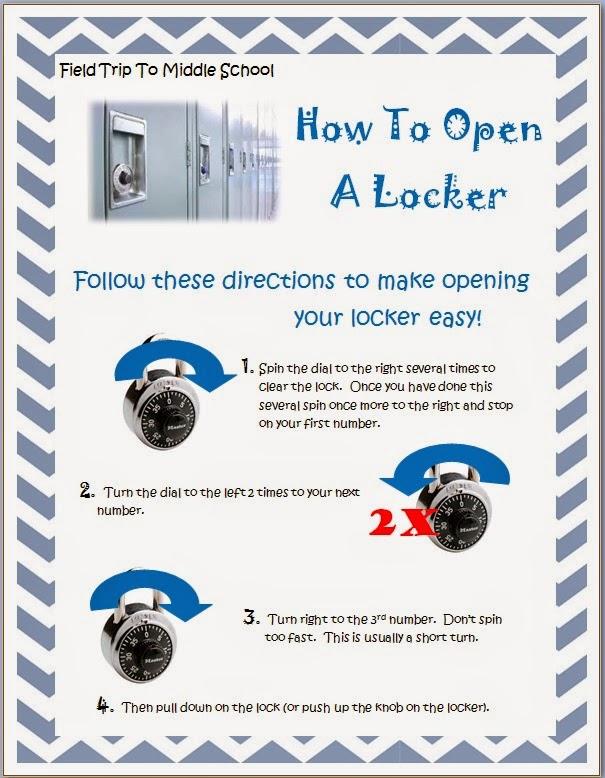 how to break open a school locker