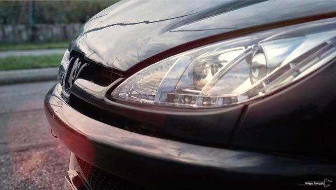 """Peugeot 206 Rebaixado Rodas 18"""""""