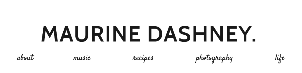 Maurine Dashney | A Mostly-Baking Lifestyle Blog